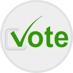 Vote with chekmark